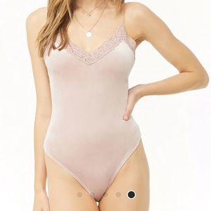 Velvet Cami Body Suit